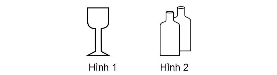 Hình nào dưới đây biểu hiện hàng chuyên chở là chất lỏng?