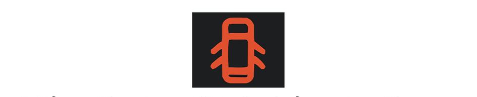 Khi động cơ ô tô đã khởi động, bảng đồng hồ xuất hiện ký hiệu như hình vẽ dưới đây, báo hiệu tình trạng như thế nào của xe ô tô?