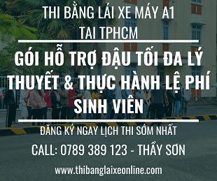 Thi Bằng Lái Xe Máy A1 Tại TPHCM - Thibanglaixeonline.com
